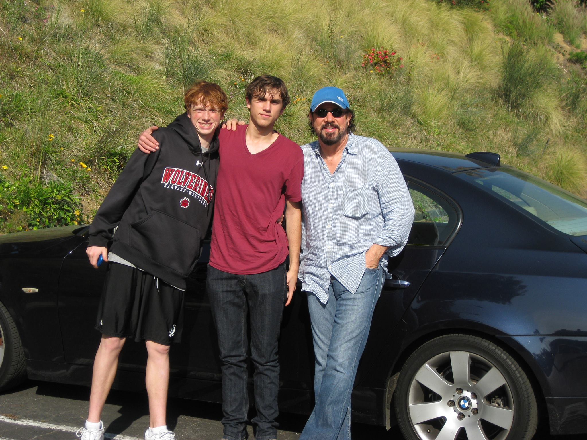 from buffalo to hollywood chasing the impossible dream the rob lieberman s sons second wife marilu henner are joe left and nick center both are pursuing careers as directors joe is interested in comedy