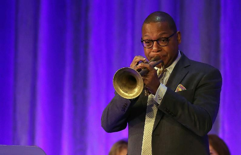 """Pulitzer Prize-winning jazz musician Wynton Marsalis, whose Jazz at Lincoln Center mission statement declares that """"We believe jazz is a metaphor for democracy."""""""