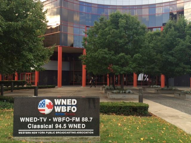 The WNED/WBFO building on Lower Terrace will now house a new arts and culture desk funded by local arts groups.
