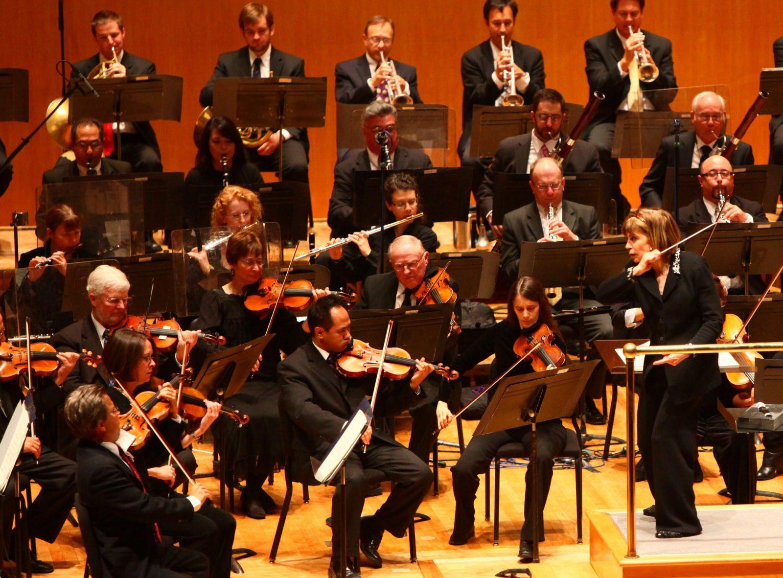 The Buffalo Philharmonic Orchestra (Robert Kirkham/Buffalo News}