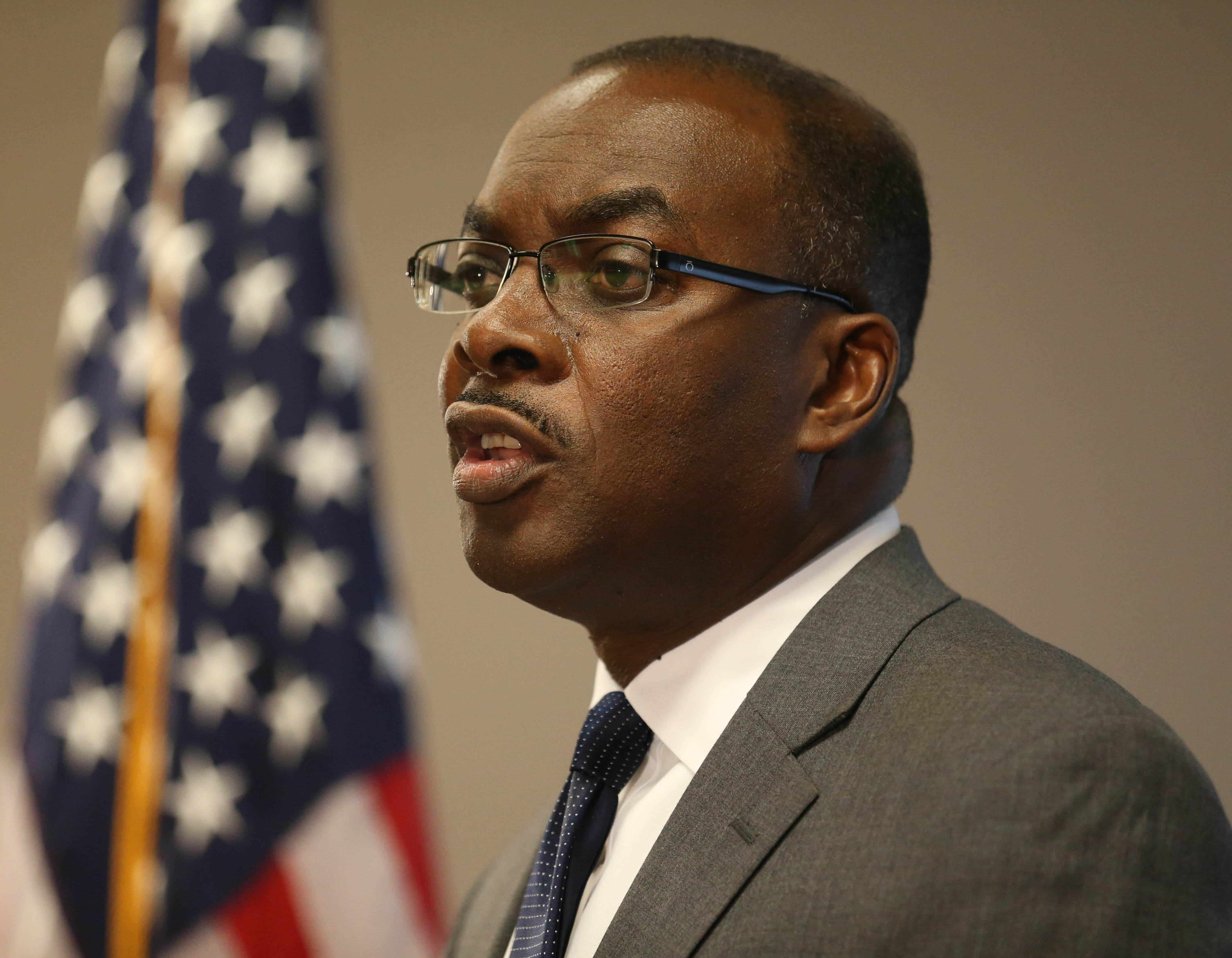 "Buffalo Mayor Byron Brown reportedly ""wowed"" gathering of Erie County Conservative Party. (News file photo)"