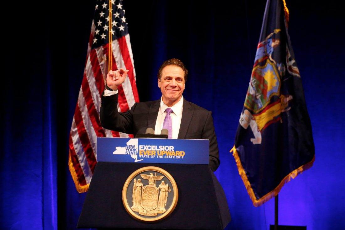 Cuomo calls for early voting, same-day registration in NY