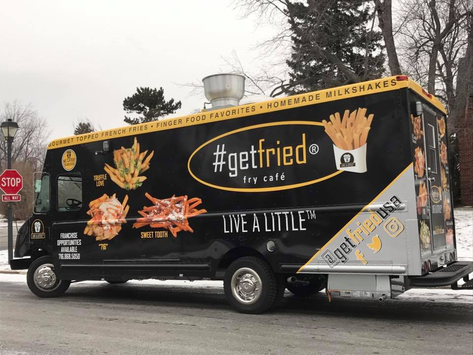 #getfried's food truck will hit Buffalo this year. (Photo courtesy of #getfried)