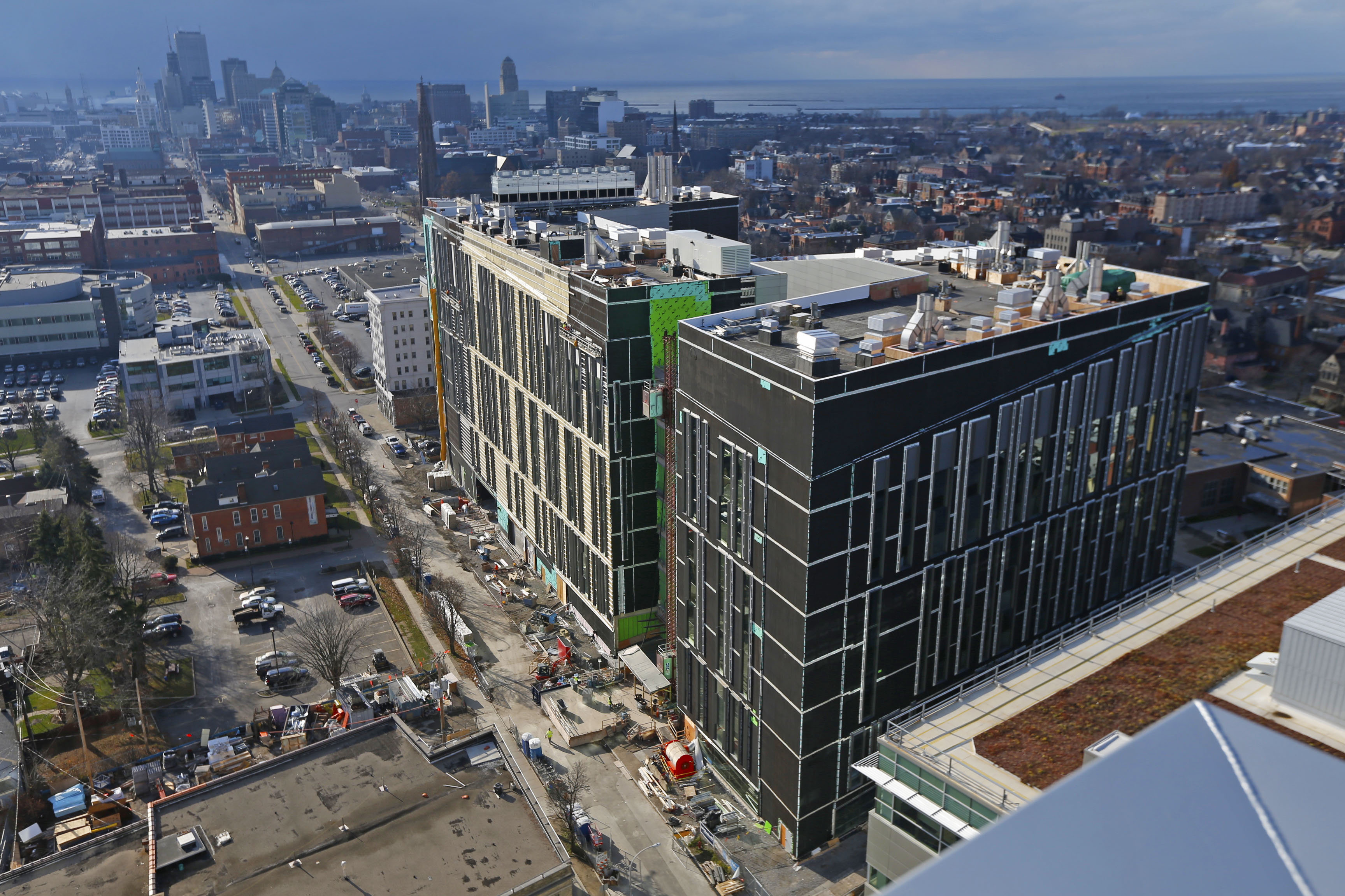 UB expects to complete its Jacobs School of Medicine and Biomedical Sciences this fall. (Robert Kirkham/Buffalo News)