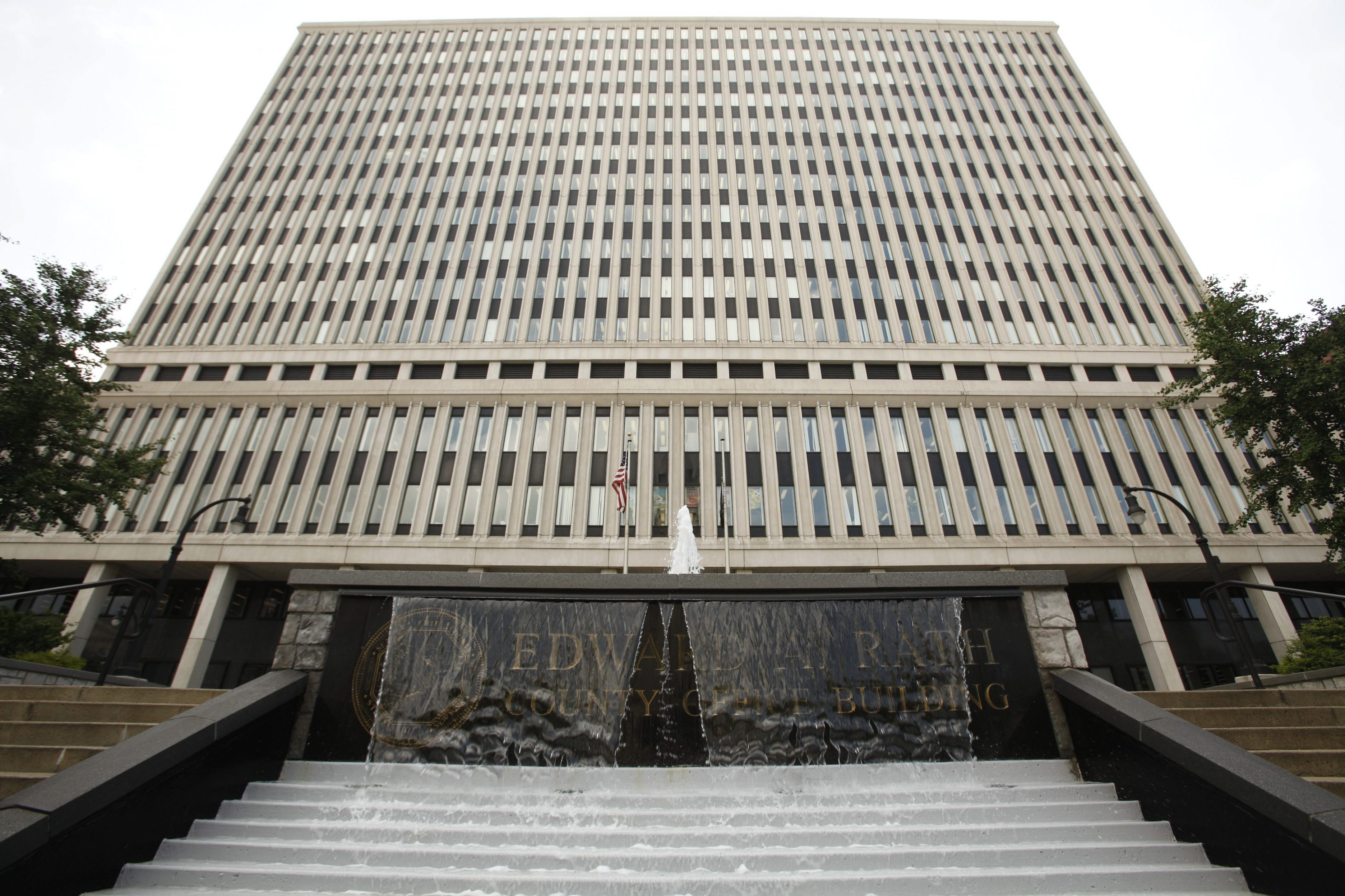 The Erie County Rath Building is likely to see another round of tighter security.   (Derek Gee/News file photo).