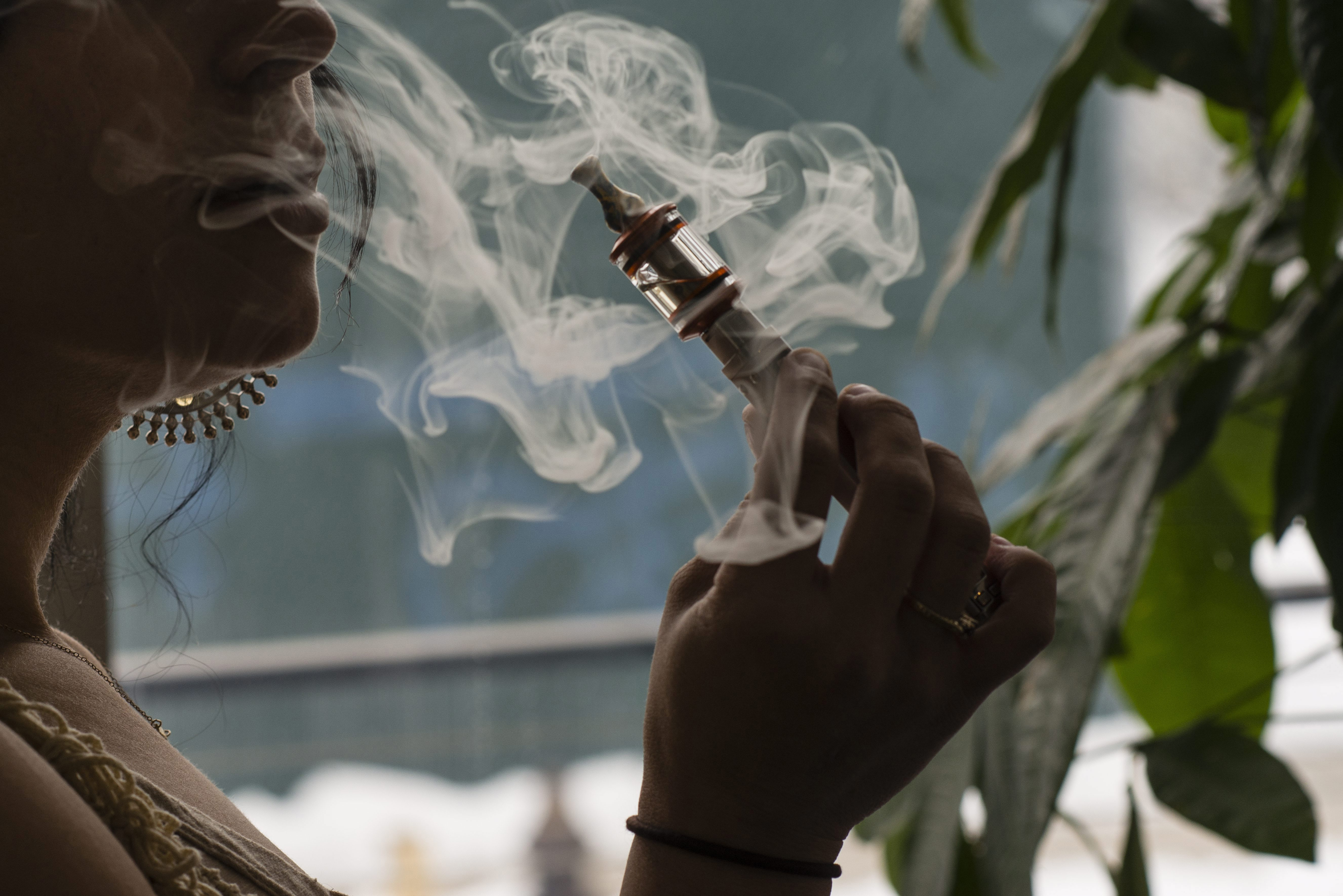 The state is considering regulating e-cigarettes like other tobacco products.(Bloomberg photo)