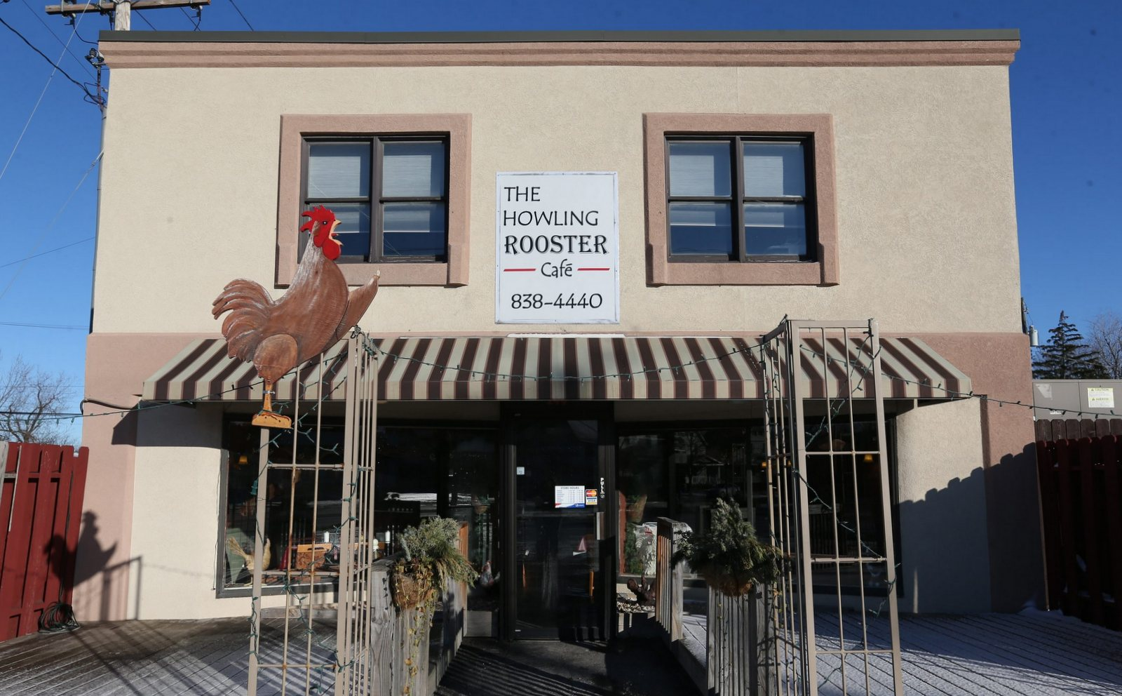 The Howling Rooster Cafe, seen here last January, has become Epicurus once again. (Sharon Cantillon/Buffalo News)