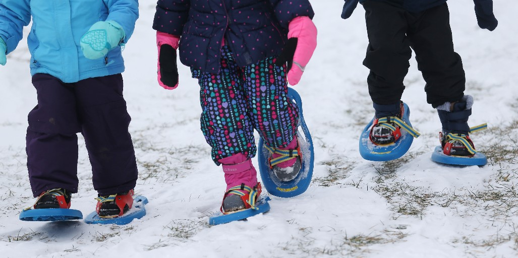 Genesee County Park & Forest  is offering guided snowshoeing. (Sharon Cantillon/Buffalo News)