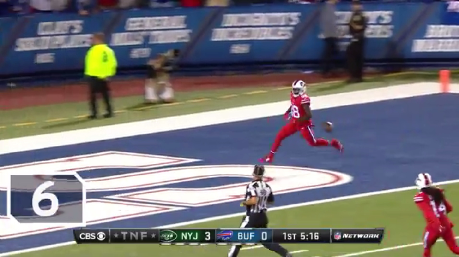 Video: NFL Network's top 10 Bills plays of 2016
