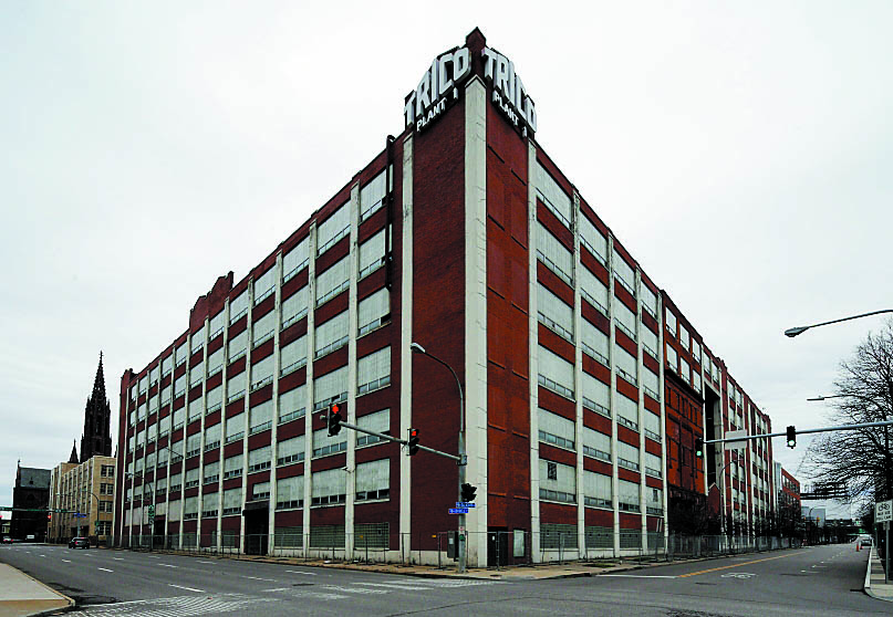 Krog will need to resubmit its application for tax breaks for its project to redevelop the Trico building. (Derek Gee/Buffalo News file photo)