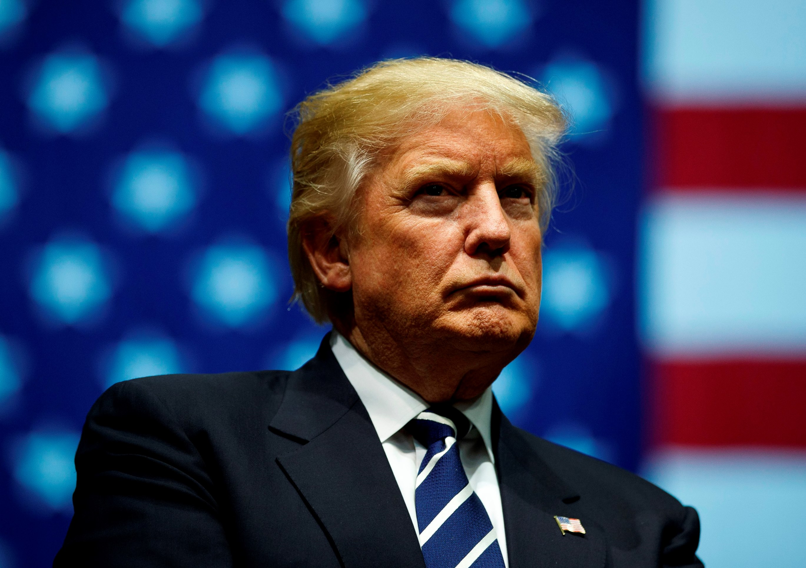 President Trump shared videos supposedly portraying Muslims committing acts of violence on Twitter on Wednesday morning, images that are likely to fuel anti-Islam sentiments popular among the president's political base in the United States. (Getty Images)