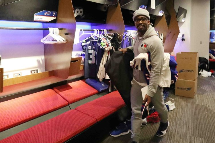 Buffalo Bills locker cleanout day