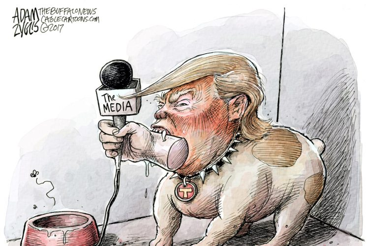 Adam Zyglis: Trump press conference