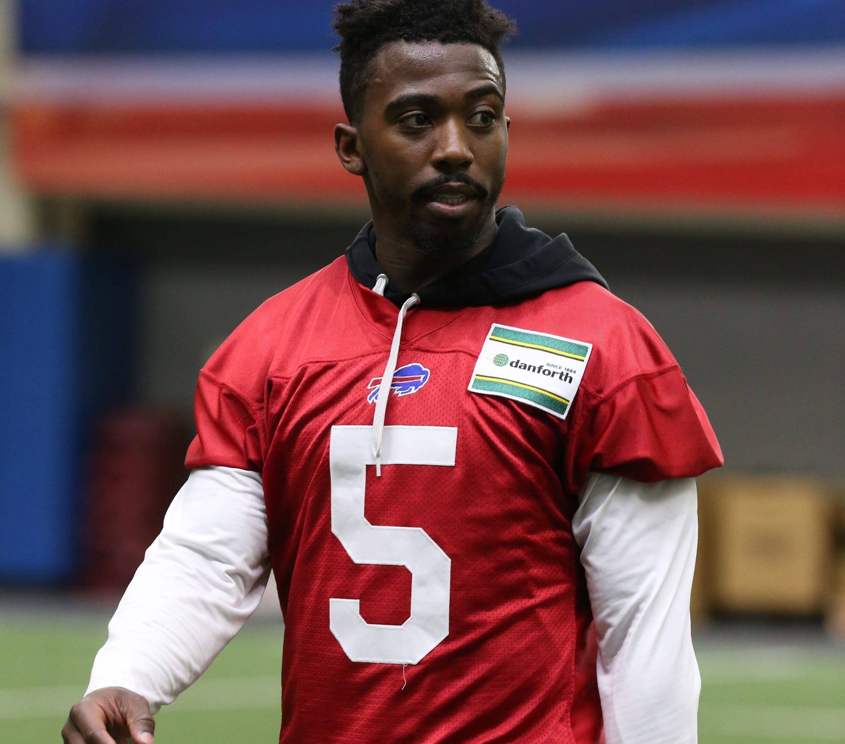 Bills running back LeSean McCoy defended his quarterback on Wednesday, saying Tyrod  Taylor is 'a hell of a player' who doesn't deserve to be benched. (James P. McCoy/Buffalo News)
