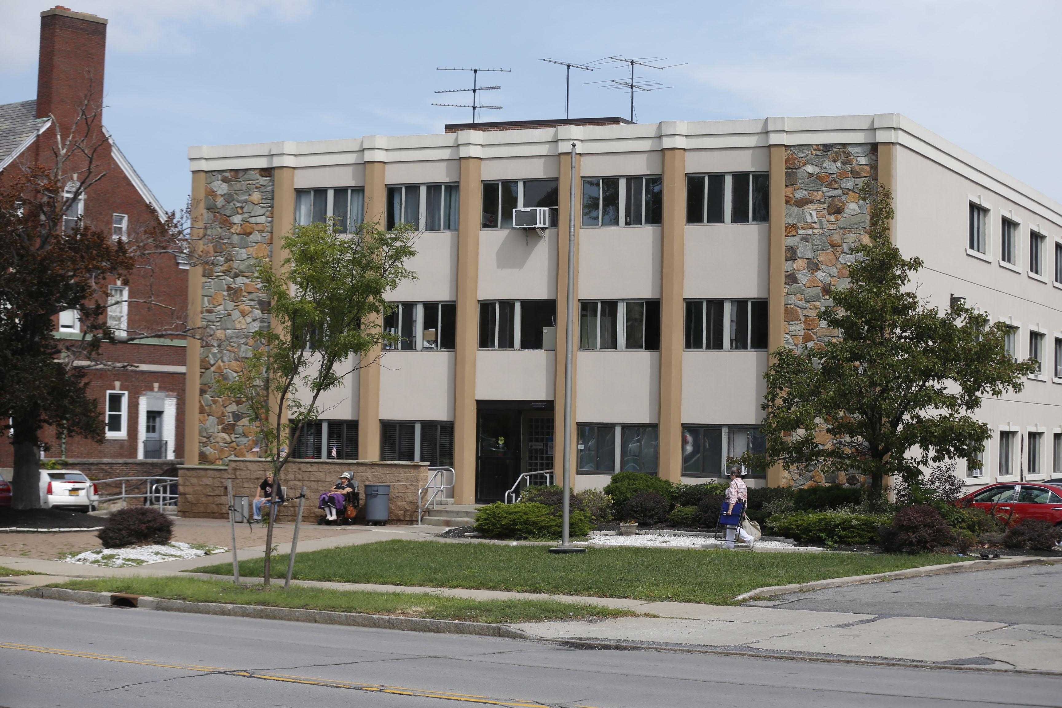 Emerald South Nursing and Rehab Center on Delaware Avenue in Buffalo. (Robert Kirkham/Buffalo News)