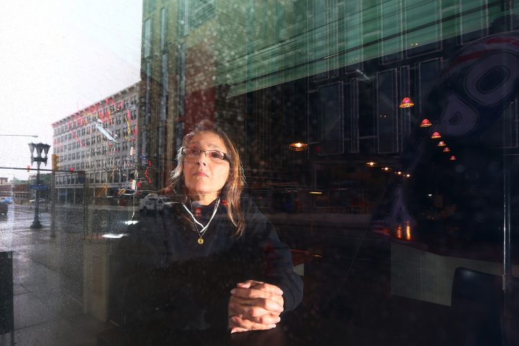Roslyn Righetti is watching Buffalo's rebirth from her window at Preservation Pub