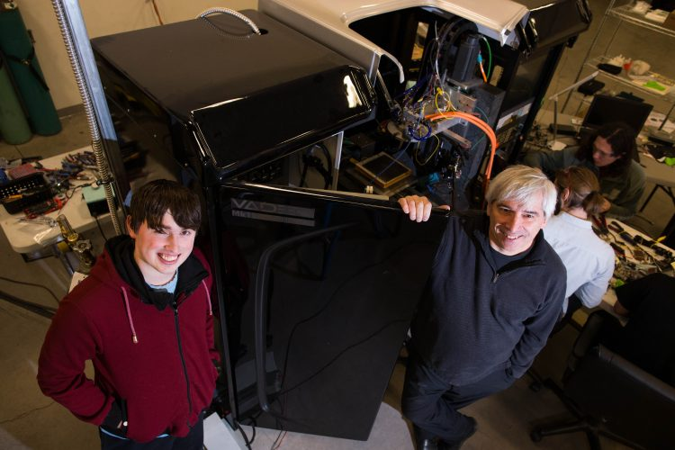 3-D printer idea pays off for Amherst whiz kid, engineer-dad