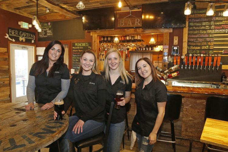 Women make their mark in former 'boys club' of  bartending, brewing