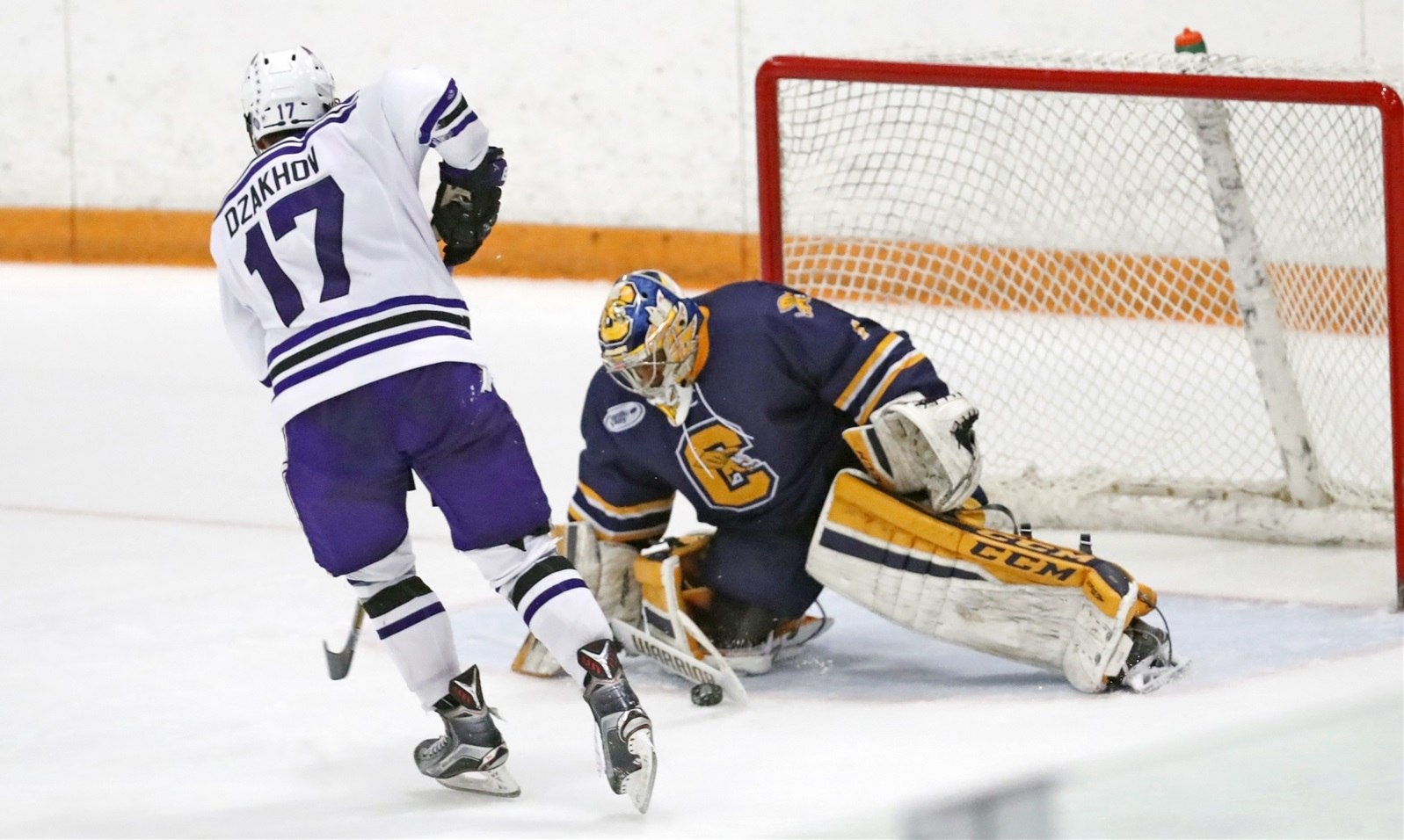 Canisius will be looking for a new starting goaltender after Charles Williams graduated. (Harry Scull Jr./Buffalo News File Photo)