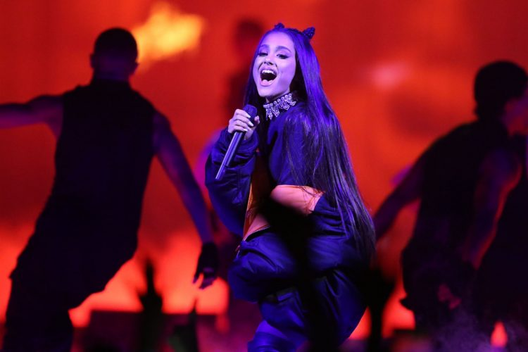 Ariana Grande in concert at KeyBank Center