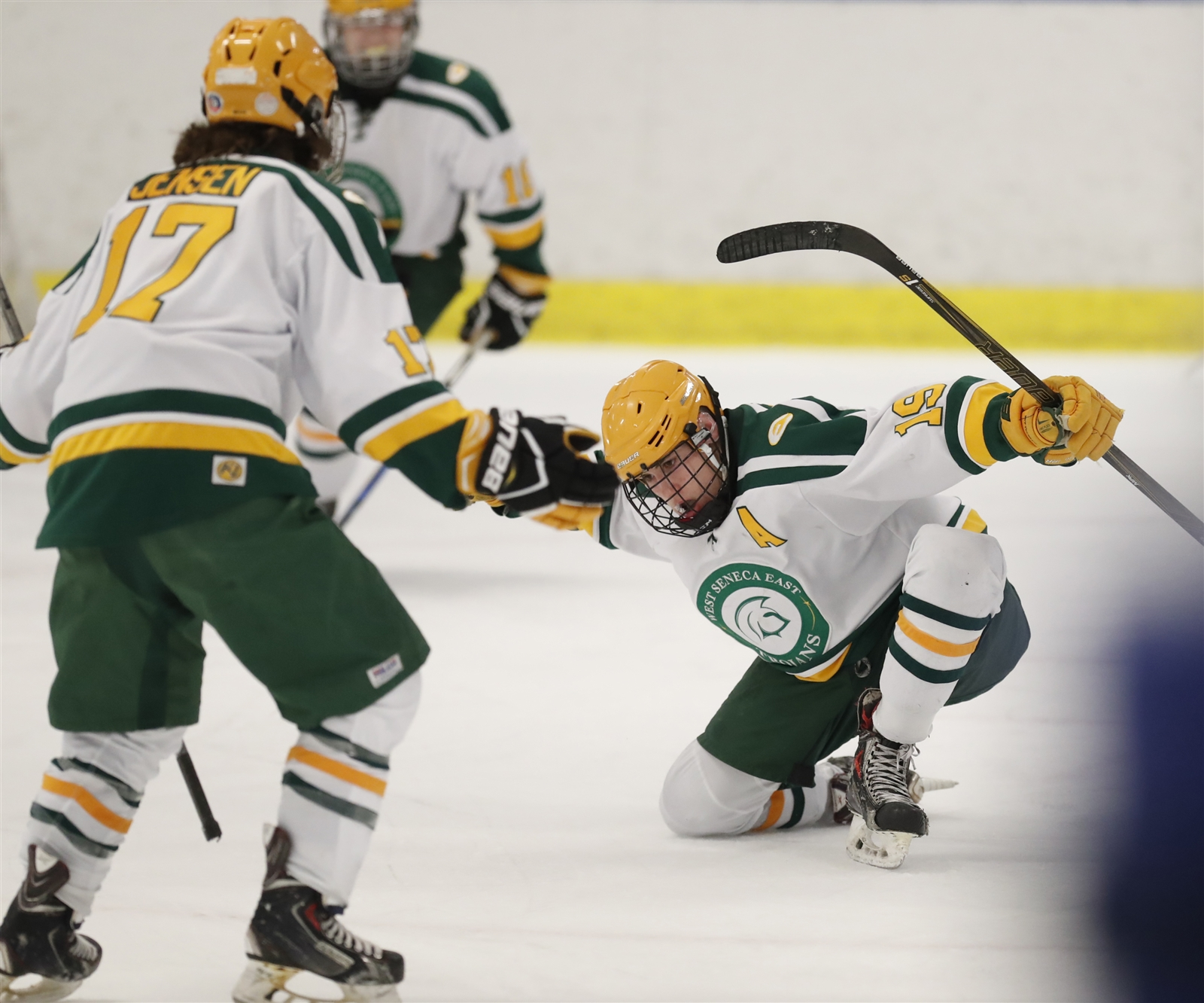 West Seneca East returns to the ice Wednesday in a Section VI Division II semifinal game as high school hockey's postseason hits the home stretch in Western New York. (Harry Scull Jr./Buffalo News)