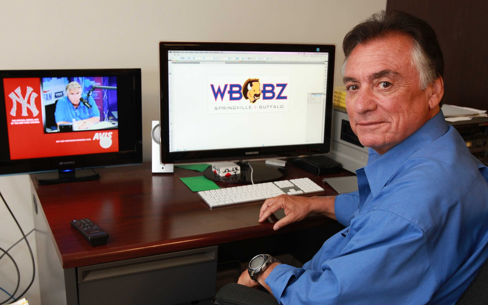 WBBZ-TV owner Phil Arno didn't gte any help in the spectrum auction. (Buffalo News file photo)