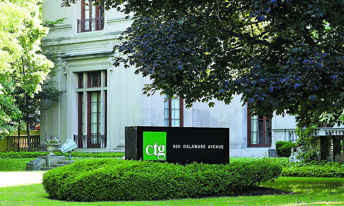 CTG said Tuesday they think the information technology company's four-year slidein revenues could end this year.  (Mark Mulville/Buffalo News file photo)