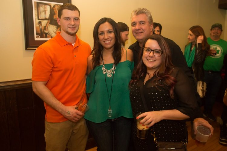 Smiles at the annual Guinness Toast in Buffalo Irish Center