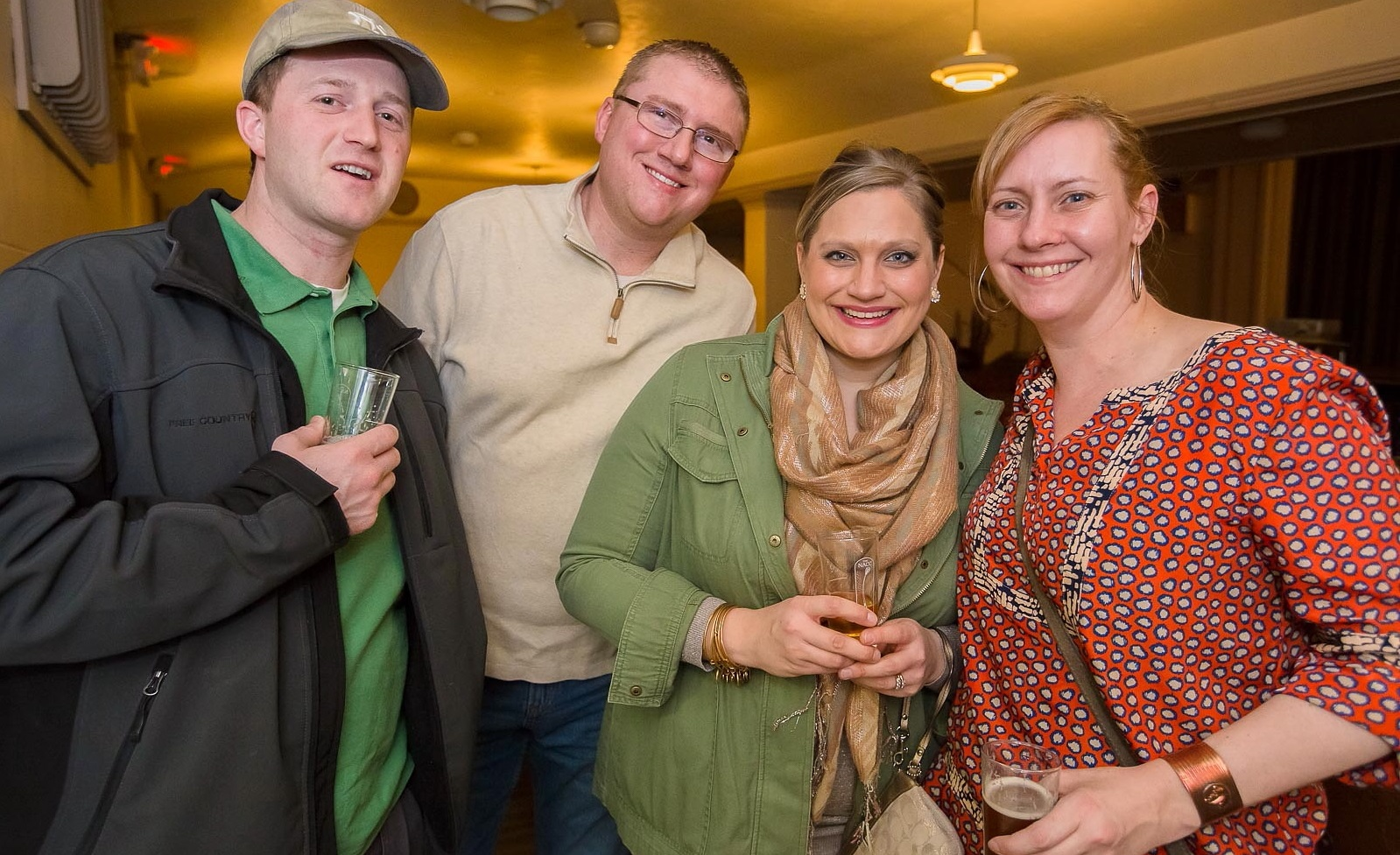 Smiles at the 2016 Art of Beer in the Niagara Arts and Cultural Center. (Don Nieman/Special to The News)