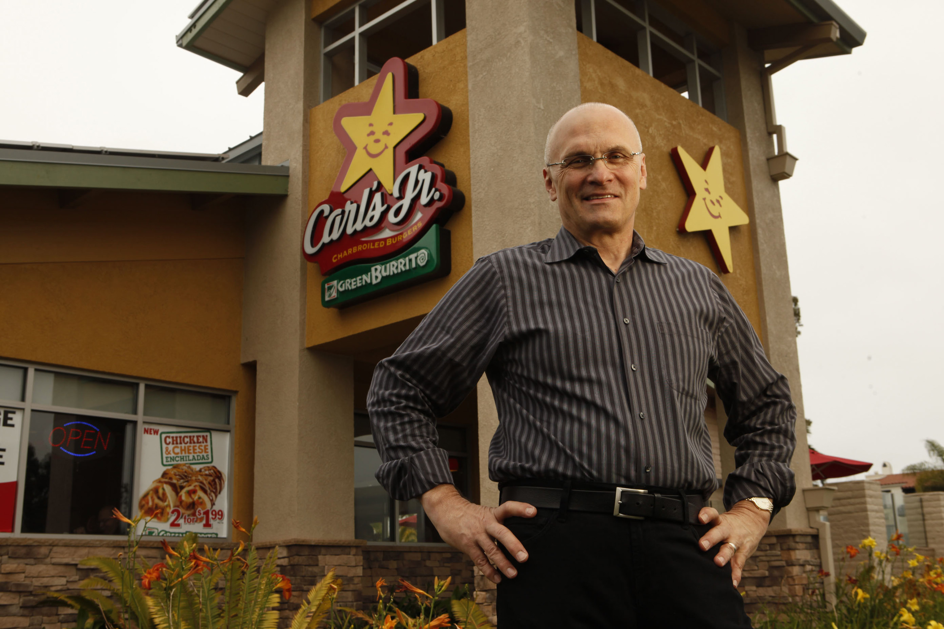 Andy Puzder has been chief executive of CKE Inc., which owns the Carl's Jr. and Hardee's chains, since 2000. President Donald Trump's nomination of Puzder as secretary of the Department of Labor is really a proxy fight in the business vs. labor battles that are likely to mark the Trump years. (Al Seib/Los Angeles Times/MCT)