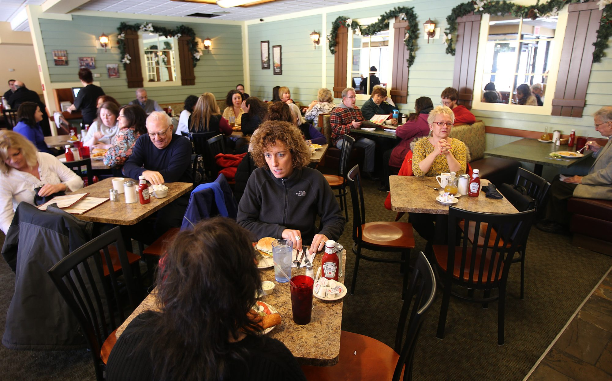 The Courtyard Restaurant, 127 Franklin St., is adding weekend service. (Buffalo News file photo)