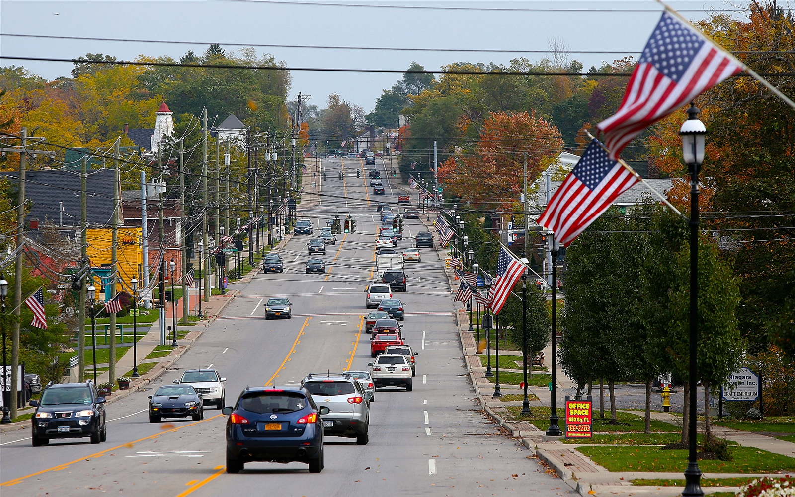 Main Street in Clarence. (Robert Kirkham/Buffalo News file photo)
