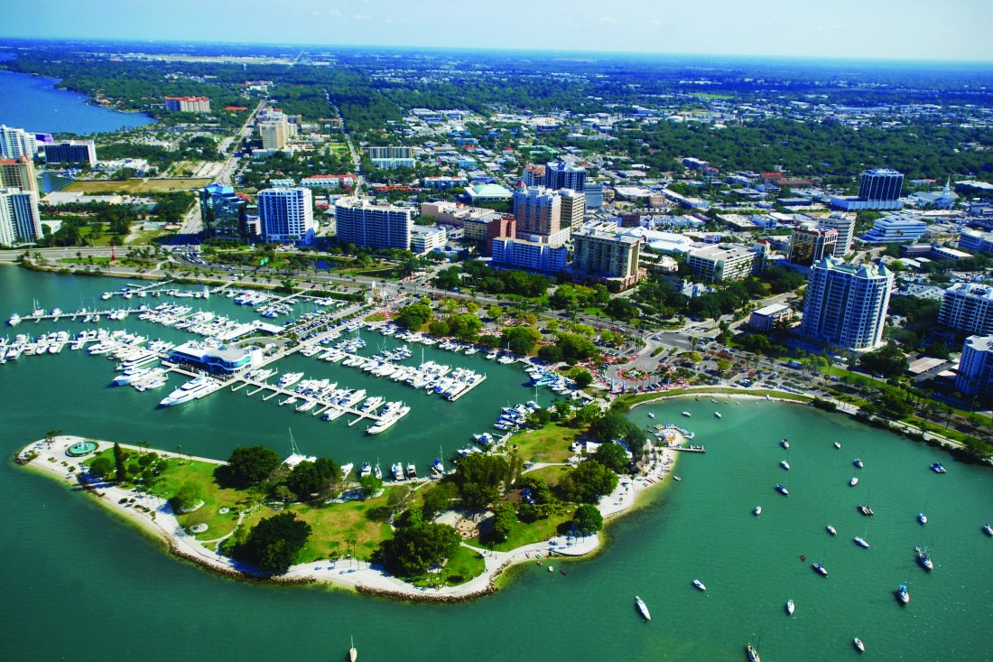 A group of Buffalo businesses will gather next week in Sarasota, Fla., for a Buffalo-themed charity event aimed at snowbirds and ex-pats. (Photo courtesy of VisitSarasota.com)