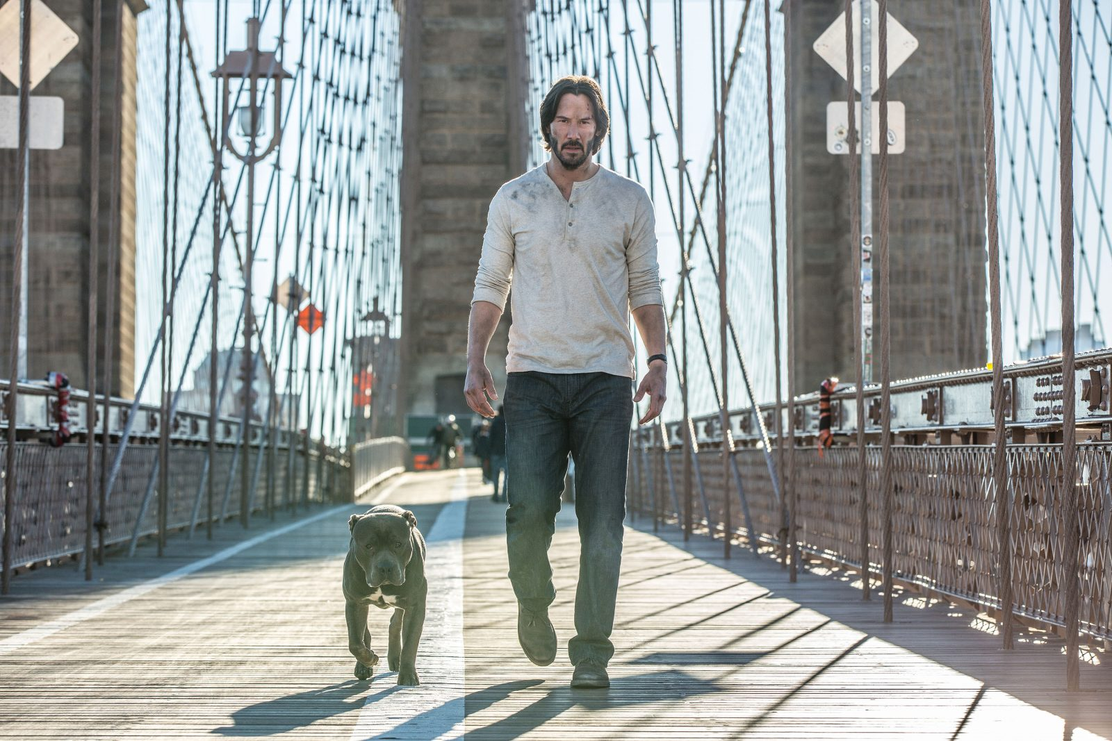 "Keanu Reeves as John Wick in a scene from the movie ""John Wick Chapter 2"""
