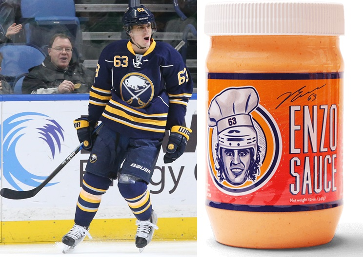 Tyler Ennis is spicing up meals with a new sauce.  (James P. McCoy/Buffalo News file photo)