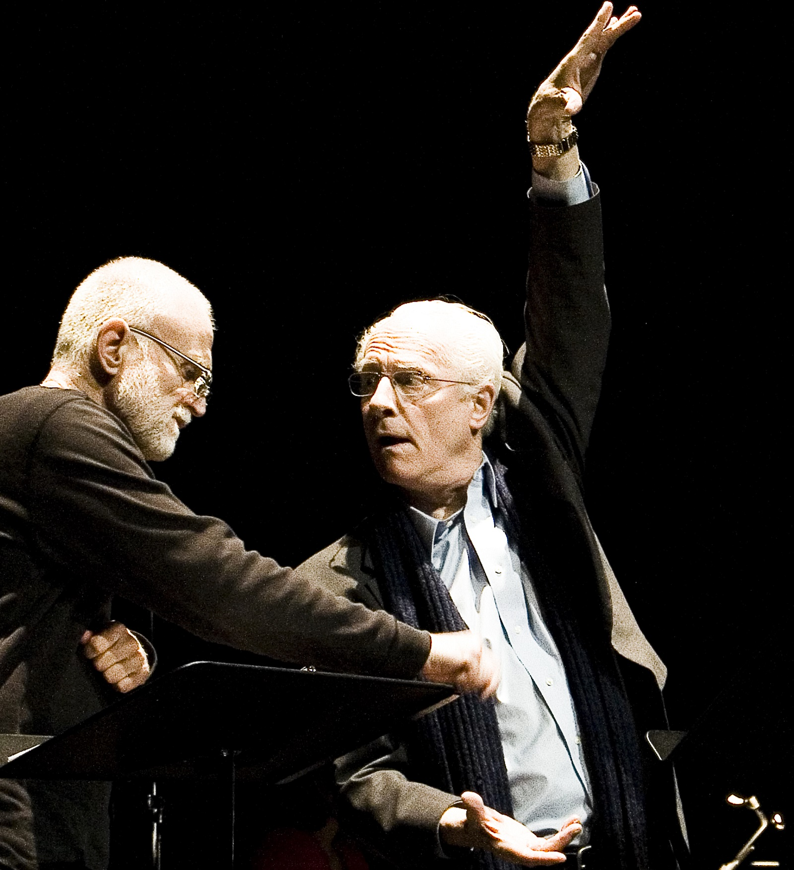Vincent O'Neill and David Oliver star in 'Faust' as part of 'A Musical Feast.'