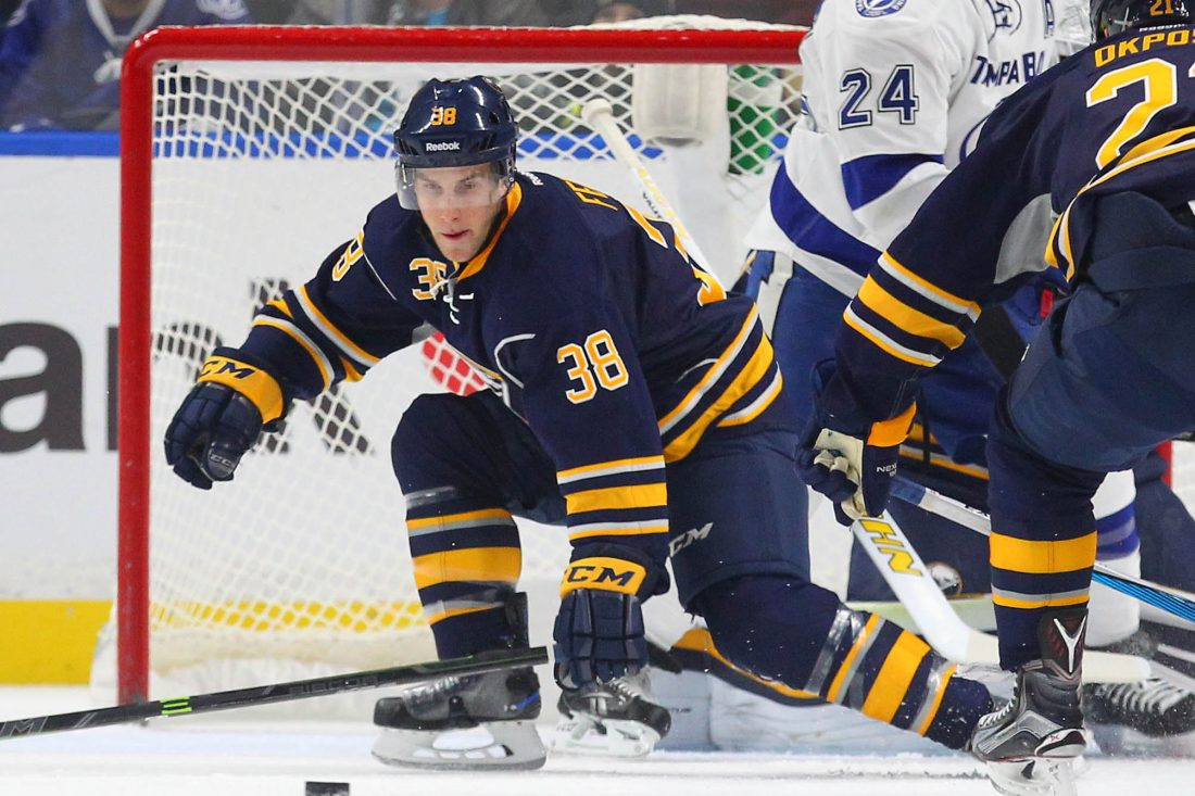 Taylor Fedun was set to be an unrestricted free agent. (Mark Mulville/Buffalo News file photo)