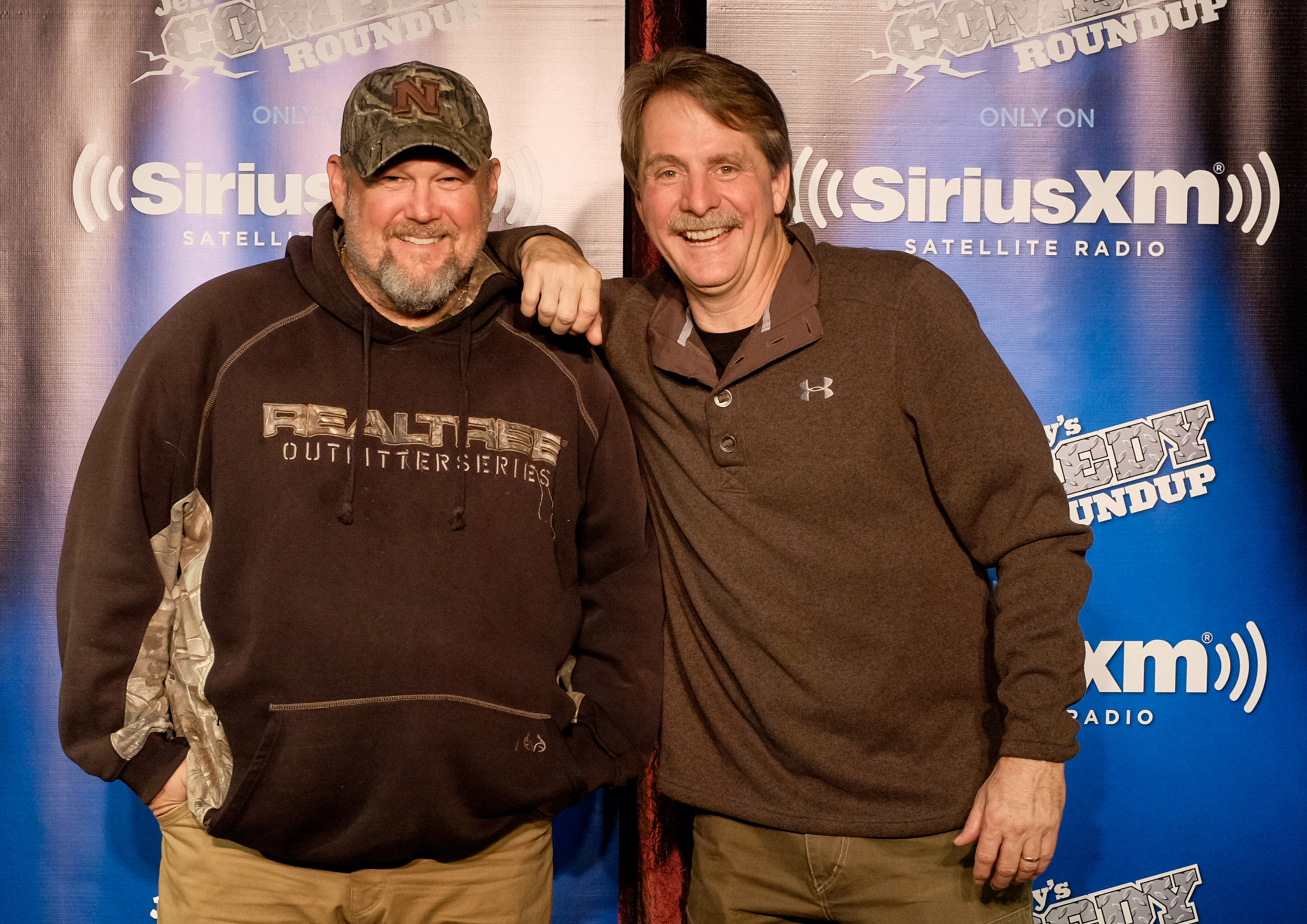 Larry the Cable Guy, left, and Jeff Foxworthy will perform at the Erie County Fair.