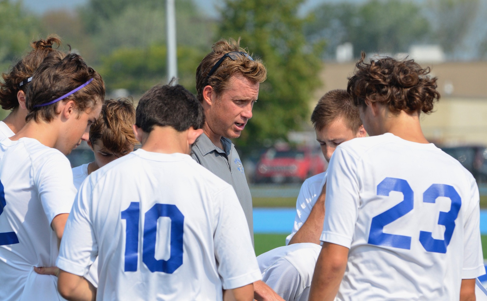 Frank Butcher, head coach of Grand Island's boys team, has recently been named head coach of FC Buffalo. (JT Tompkins)