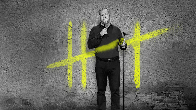 Jim Gaffigan's latest comedy special, 'Cinco,' is now streaming on Netflix.
