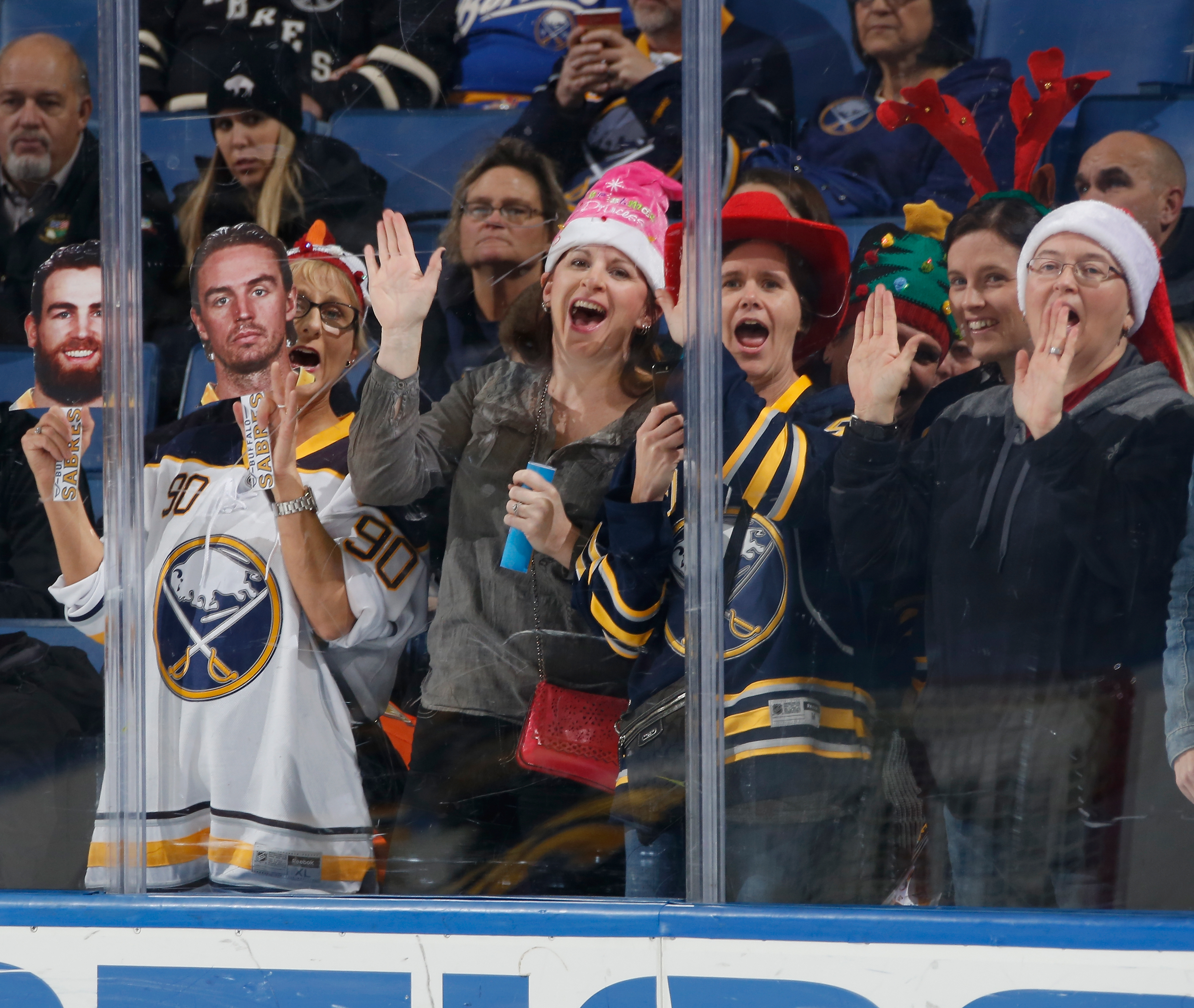Sabres fans have given MSG an average rating of 6.43.  (Getty Images)