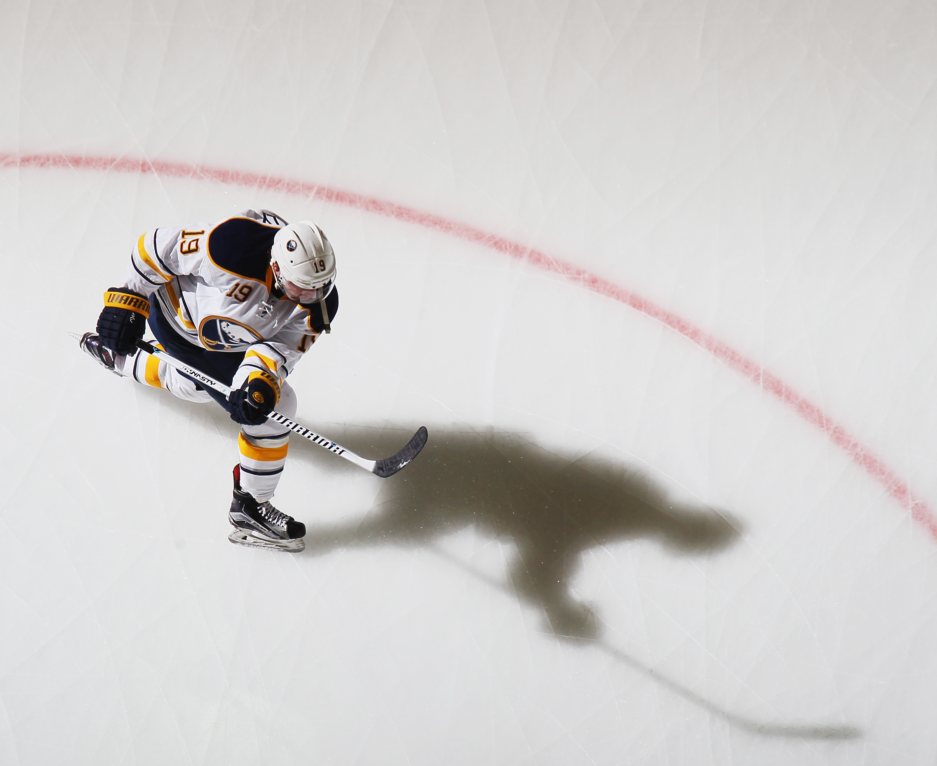 Cal O'Reilly has no goals and one assist in 11 games with Buffalo.  (Getty Images)