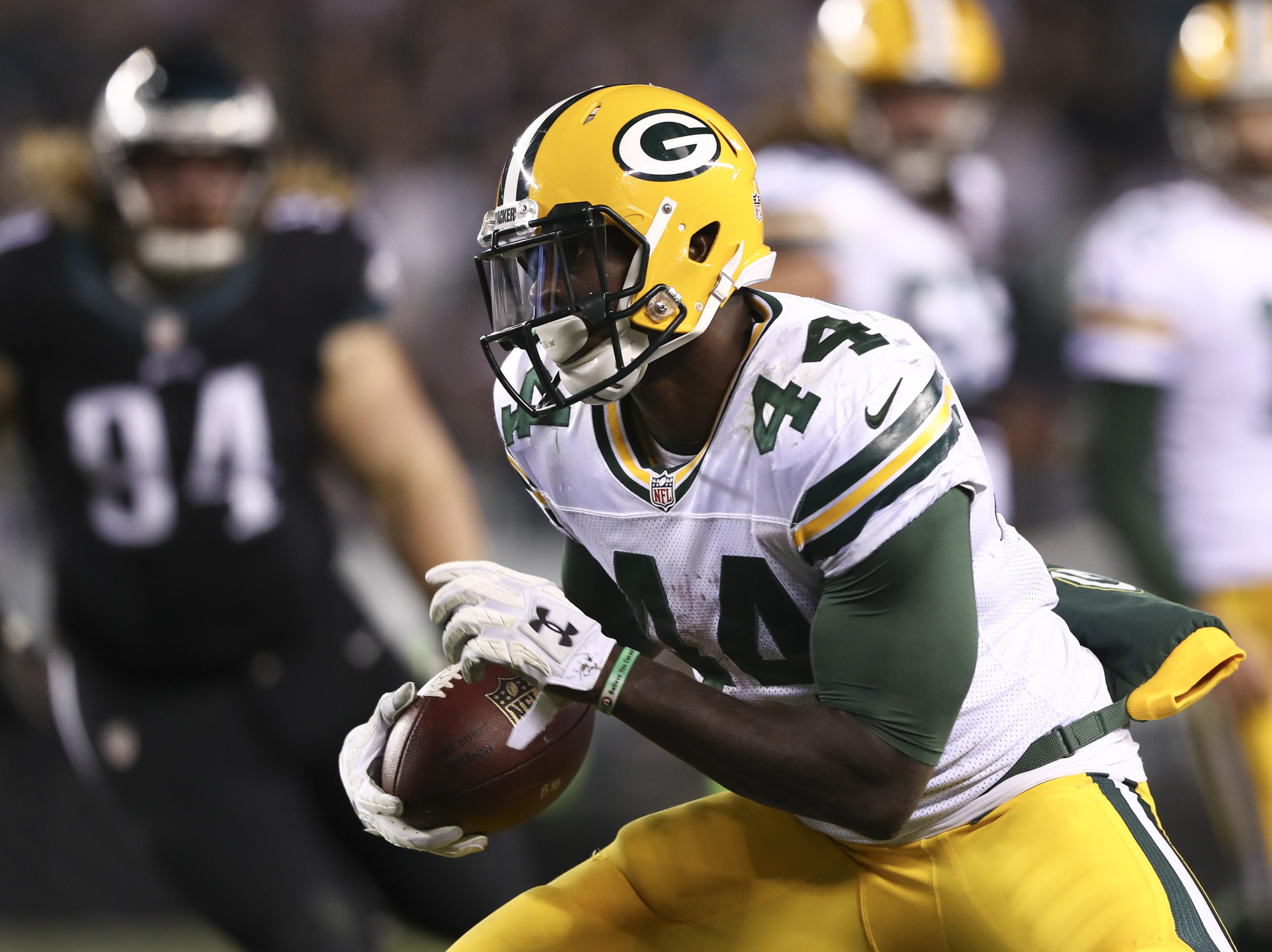 Niagara Falls native James Starks had an injury-plagued 2016 season with the Green Bay Packers. (Getty Images)
