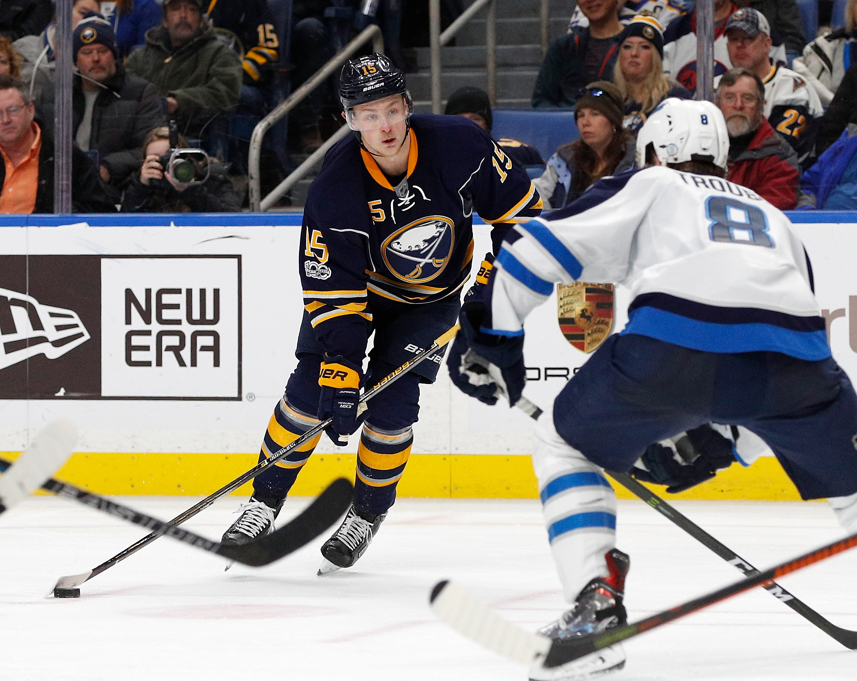 Jack Eichel says he is  creative player who takes risks. (Getty Images)
