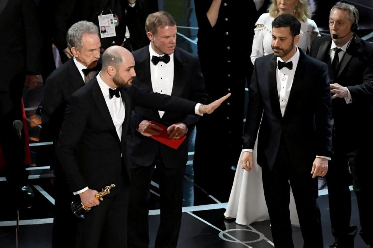 Video: The colossal mix-up for Best Picture at the Oscars