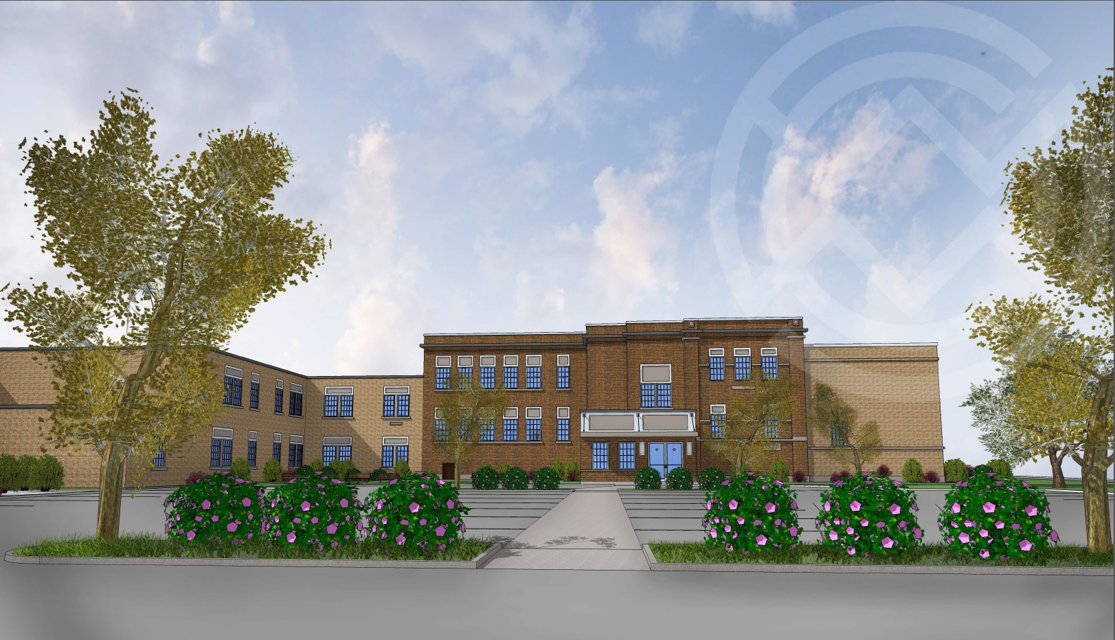 The former Highland Elementary School will reopen as Highland School Apartments for disabled and low-income residents.