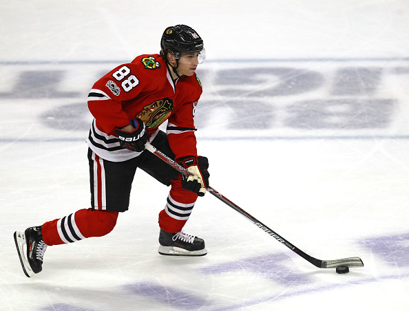 South Buffalo native Patrick Kane is seventh in the NHL in scoring and was named to the NHL100 at the All-Star Game (Getty Images).