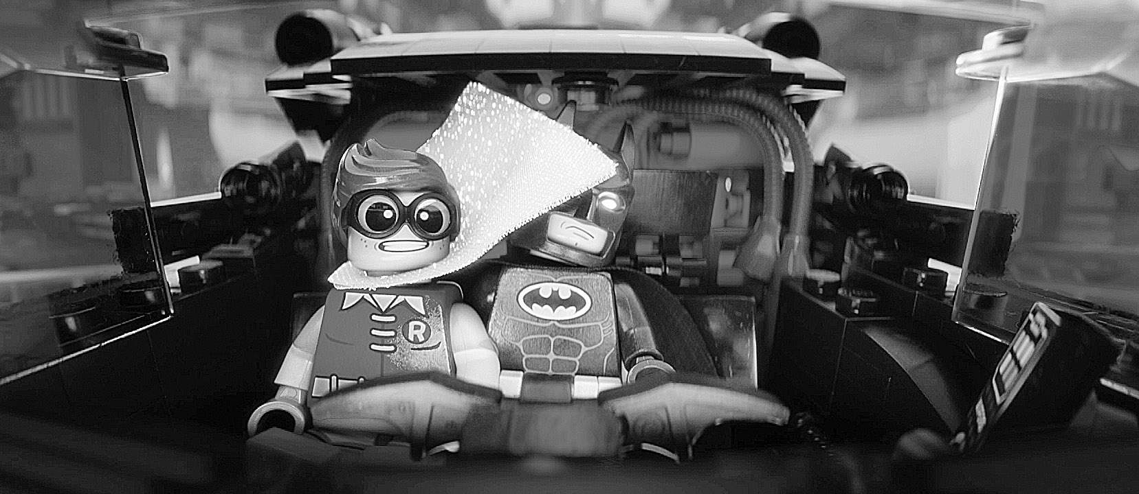 """(L-r) LEGO(r) minifigures Robin (voiced by MICHAEL CERA) and Batman (voiced by WILL ARNETT) in the 3D computer animated adventure """"The LEGO(r) Batman Movie,"""" from Warner Bros. Pictures and Ratpac-Dune Entertainment. A Warner Bros. Pictures release."""