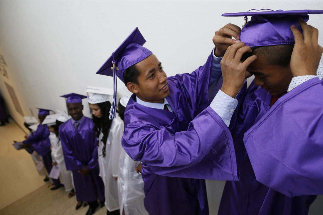 New York City graduation rate climbs to record level