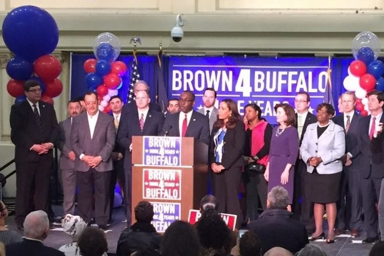 Byron Brown on bid for fourth term: 'Our growth is undeniable'